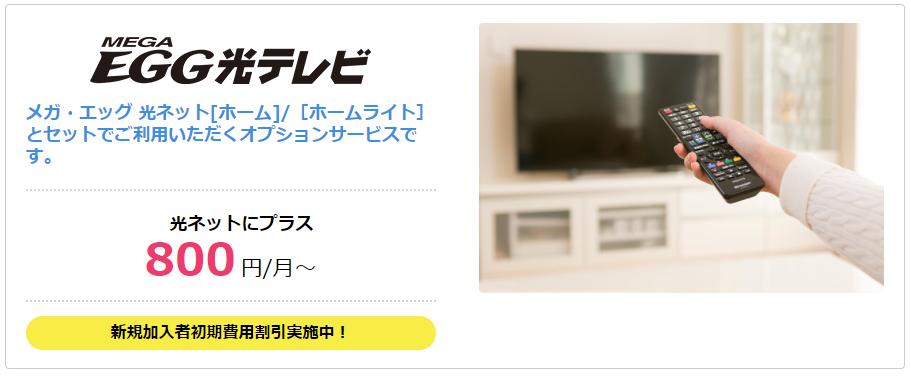 メガエッグ光テレビ
