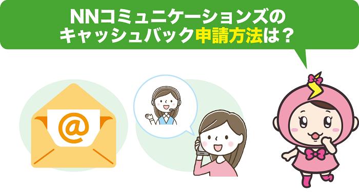 NNコミュニケーションズのキャッシュバック申請方法