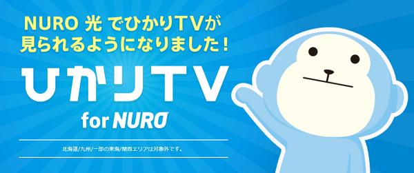 ひかりTVが使用可能