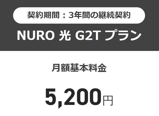 NURO光 料金 サービス内容
