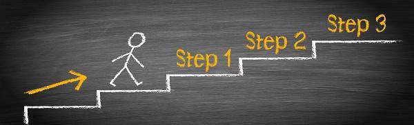 開通するまでの6つのステップと開通までの期間