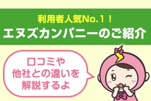 利用者人気No.1のエヌズカンパニーご紹介