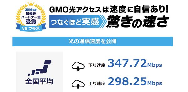 GMO光アクセス 高品質回線